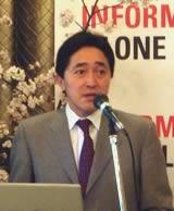 日本オラクル代表取締役社長の新宅正明氏