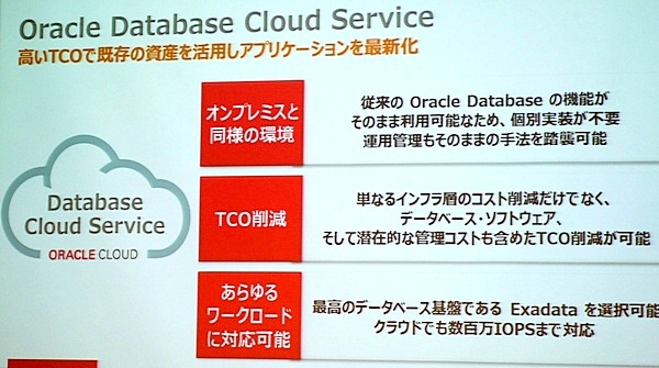 Oracle Database Cloud Serviceとは