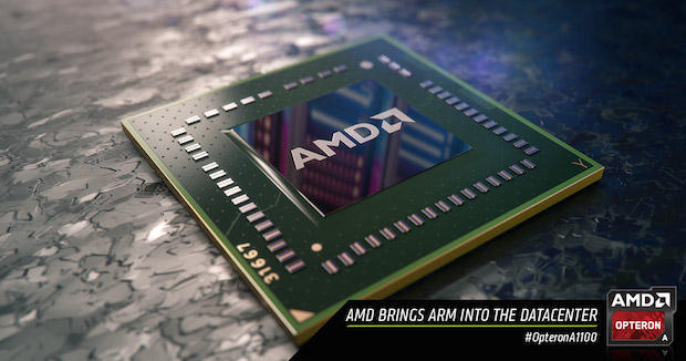 AMDの新たなARMプロセッサ「AMD Opteron A1100 System-on-Chip(SoC)」