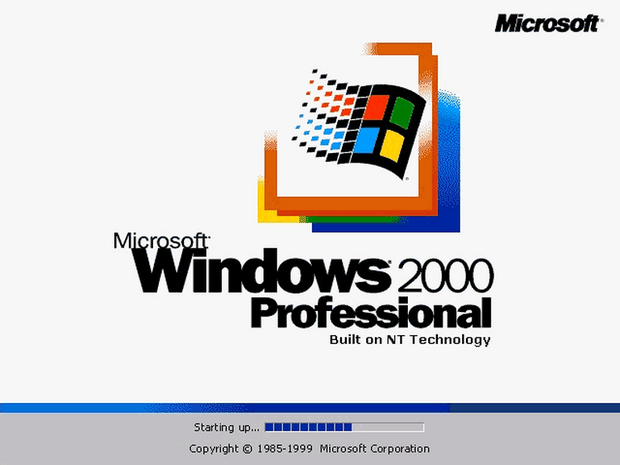 Windows 2000 Professional   「Windows 2000 Professional」は2000年2月17日にリリースされた。