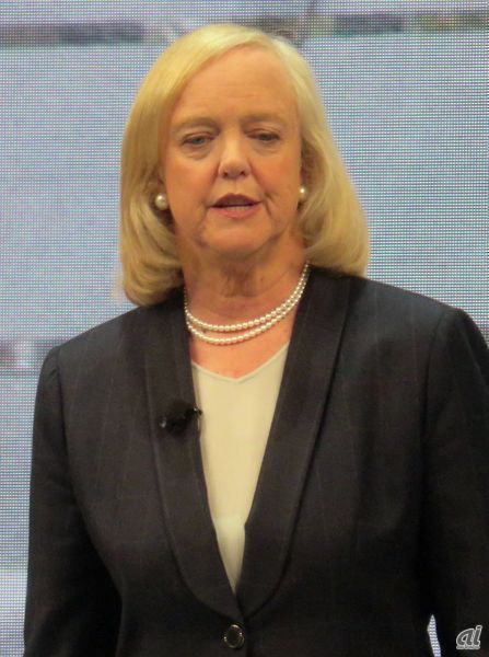 Hewlett Packard Enterprise(HPE)の最高経営責任者(CEO) Meg Whitman氏