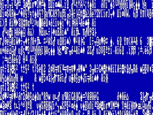 新旧コンピュータのエラー画面--画像で見る恐怖の27連発編