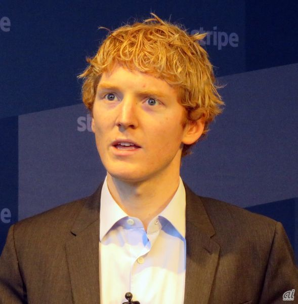 Stripe Patrick Collison CEO兼共同創業者