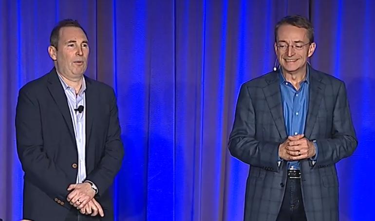 AWSとヴイエムウェアが戦略的提携--新ハイブリッドクラウドサービスを発表