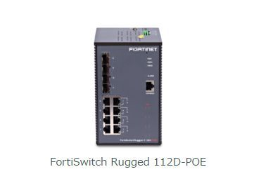 FortiSwitch Rugged 112D-POE