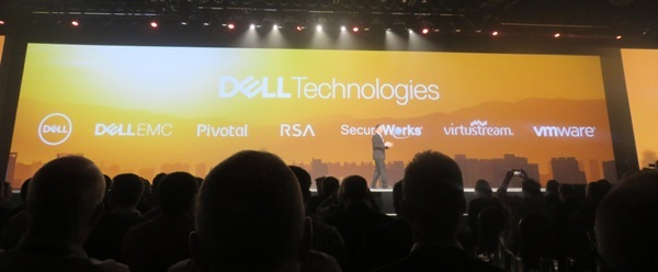 Dell Technologiesは、Dell、Dell EMC、VMware、Pivotal、Virtustream、RSA、SecureWorksの7つで構成される