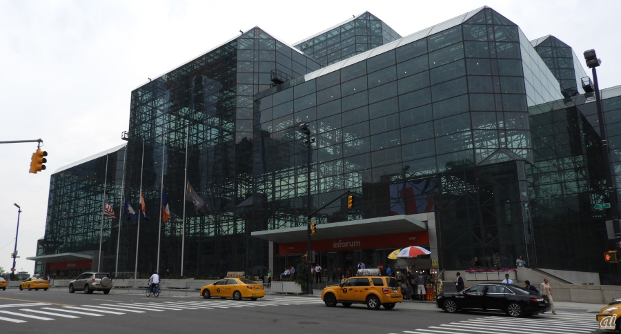 会場となったJacob K.Javits Convention Center
