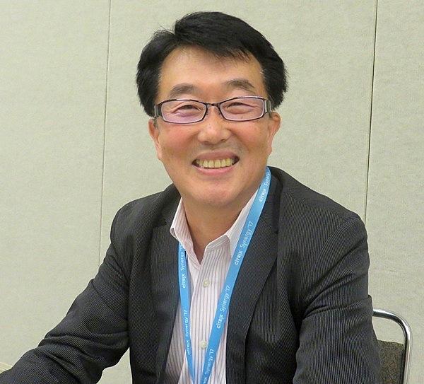 シトリックス・システムズ・ジャパンの代表取締役社長、青葉雅和氏