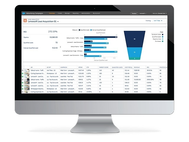 「Salesforce Lead Analytics for Facebook」発表