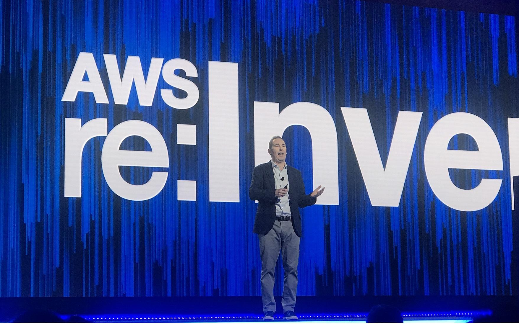 AWS Andy Jassy CEO AWS re:Invent