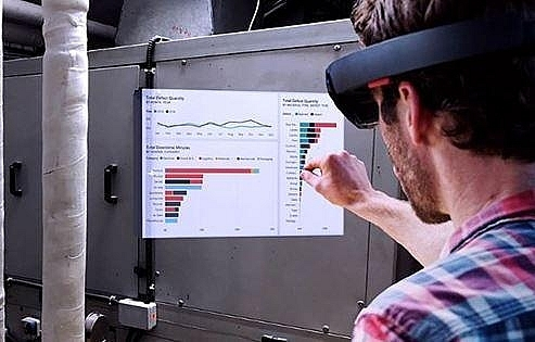 Power BI for Mixed Reality