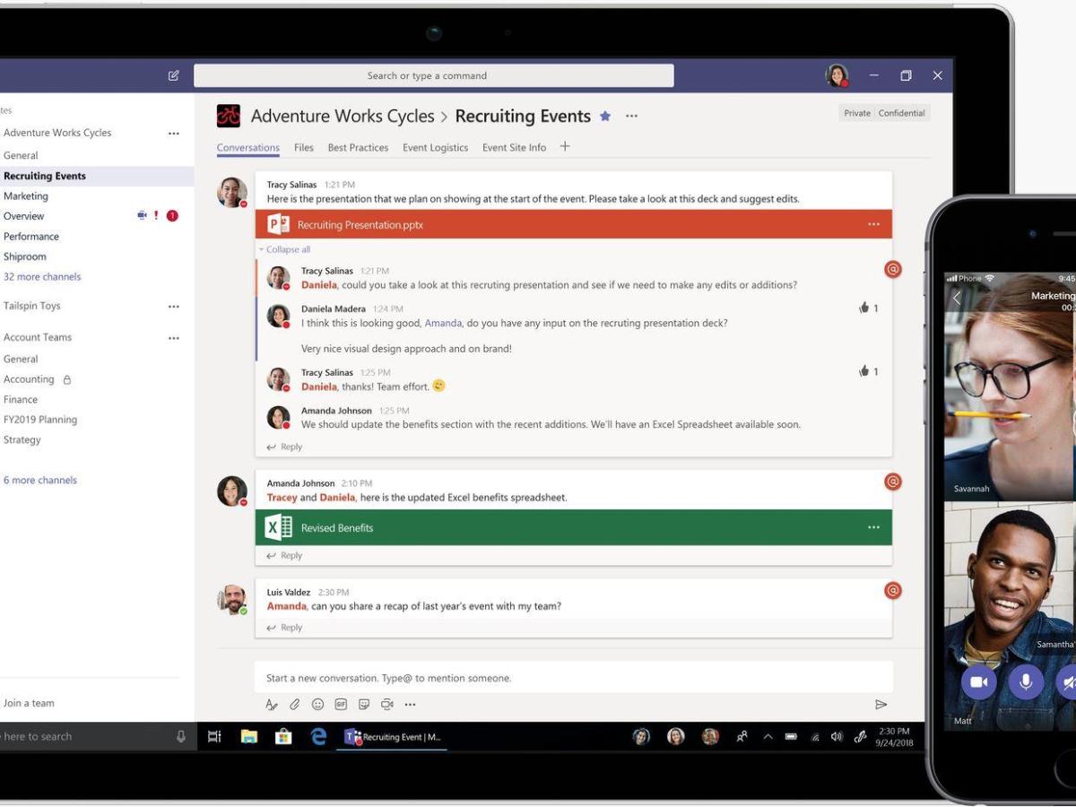 マイクロソフト、「Teams」の無償版を提供開始