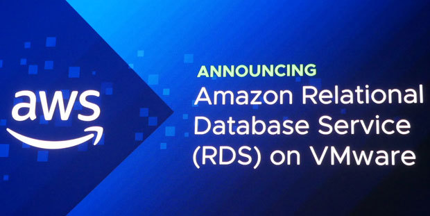 VMworld 2018で大きな注目を集めたのが「Amazon Relational Database Service(RDS) on VMware」の発表だった