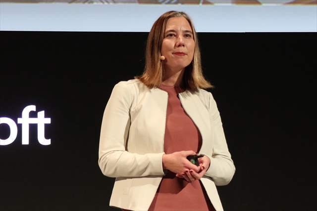 Microsoft General Manager for Microsoft 365のCatherine Boeger氏