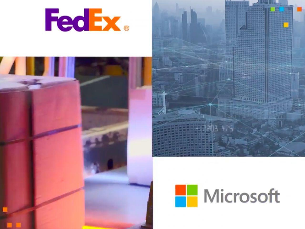 マイクロソフトとFedExが提携、サプライチェーンや物流ネットワークの向上目指す