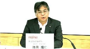 富士通 代表取締役社長の時田隆仁氏