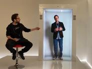 ホログラムのようにリモートの人を映す「PORTL」デバイス–オンライン会議もよりリアルに?