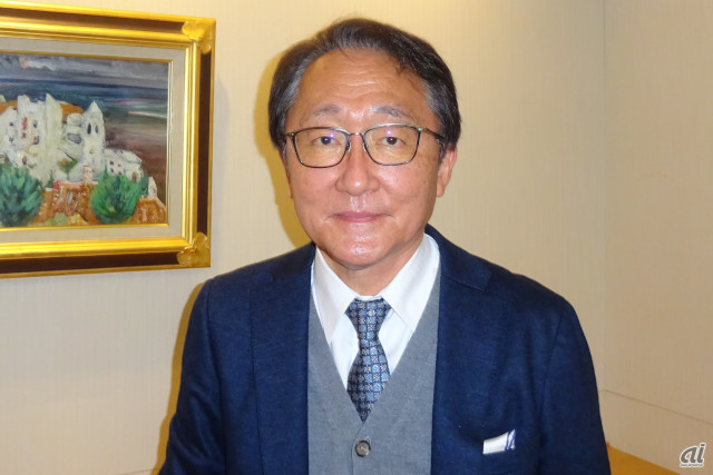 SCSK 会長の田渕正朗氏