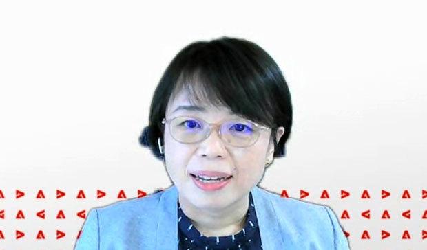 アドビ デジタライゼーションマーケティング本部長の小池晴子氏