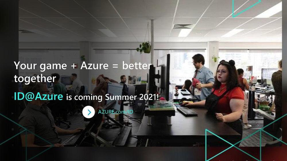 Game Stack Live 2021で発表した「ID@Azure」。ゲーム開発や運用、拡張にMicrosoft Azureを利用できるという