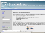 Security Research & Defense : Update on the SMB vulnerability situation