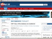 SAP: Days of the database are numbered - ZDNet.co.uk