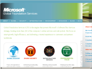 Microsoft Global Foundation Services