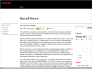 NOVELL: Novell News ? Blog Archive ? The City of Los Angeles