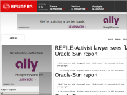 REFILE-Activist lawyer sees flaw in EU Oracle-Sun report | Reuters