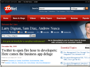 Twitter to open fire hose to developers: Here comes the business app deluge | Between the Lines | ZDNet.com