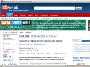 Amazon's virtual private cloud goes public - ZDNet.co.uk