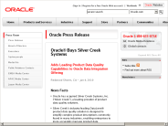 Oracle? Buys Silver Creek Systems