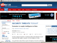 Symantec to supply intelligence to Nato - ZDNet.co.uk