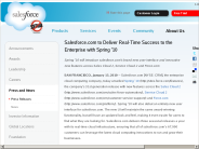 Salesforce.com to Deliver Real-Time Success to the Enterprise with Spring '10 - salesforce.com