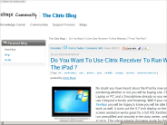 Do You Want To Use Citrix Receiver To Run Windows 7 From The iPad ? ? ocb - Citrix Community